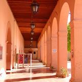 Arcos del patio interior de la Presidencia Municipal