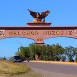 Entrada principal de Melchor Múzquiz