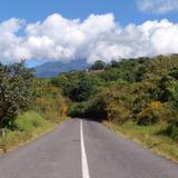 Carretera al Volcán de Fuego