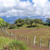Paisaje cercas del Volcán de Fuego