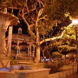 Plaza principal de Tecomán