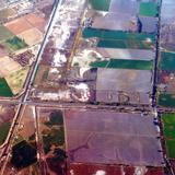 Campos de cultivo en Delicias