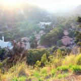 Rayos del sol sobre Atenquique