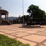Plaza principal de Ciudad Guzmán