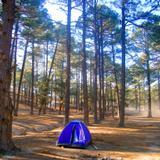 Área para acampar