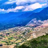 Vista desde las cumbres de Acultzingo