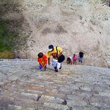 Asenso a la pirámide de Kukulcán