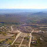 Vista aérea de Manuel Benavides
