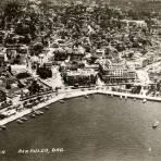 Vista aérea de Acapulco