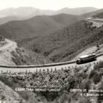 Cuesta de Mamulique en la Carretera México - Laredo