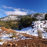 Nieve en la Sierra de San Luis