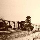 Acueducto y ferrocarril (c. 1900)
