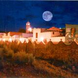 La Luna sobre Santa Bárbara