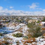 Juárez nevado