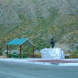 Área de descanso en carretera