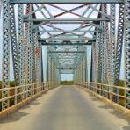 Puente sobre el río San Juan