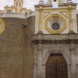 Fachada de la parroquia