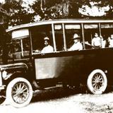 AUTOBUS MONTERREY--SANTIAGO--1914