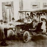 CAMION DE PASAJEROS---1910