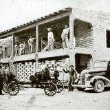 CONSTRUCCION DEL TALLER DE DON ABELARDO VILLARREAL---1935