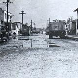 Calle Tamaulipas y Gral. Cesar Lopez de Lara en 1955