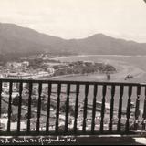 Panorama general del casco citadino desde el comedor del Hotel del Monte