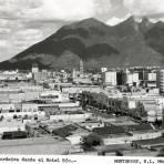 Vista panorámica de Monterrey desde el Hotel Río