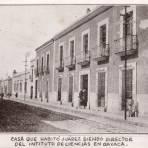 Casa que habitó Benito Juárez
