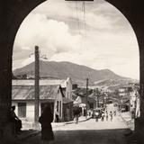 Calle típica de Cananea