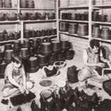 Trabajos de cerámica