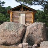 Cabaña al lado del lago Arareko