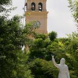PARROQUIA DE SAN JUAN BAUTISTA Y MONUMENTO A MIGUEL HIDALGO