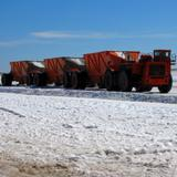Transportación de la sal