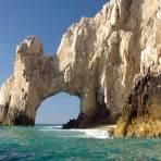 El Arco, visto desde el Mar de Cortés