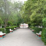 Plaza principal de Aldama Chihuahua