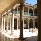 Interior del Palacio de Alvarado