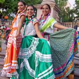 guelaguetza en aguascalientes , trajes tipicos