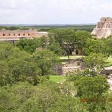 vista panoramica de uxmal