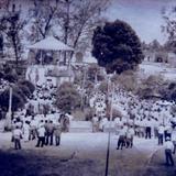 """30 de Marzo de 1950, Quisco del Parque """"Juárez""""."""