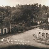 1930-40. CALLES MELCHOR OCAMPO Y GUADALUPE VICTORIA.