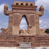 puerta de entrada al mundo maya