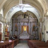 Interior de la Iglesia de Ixtlán