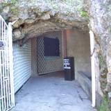 entrada de la cueva El Chorrito,Mpio de Hidalgo,Tam.