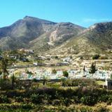 Colorido cementerio