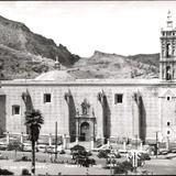 Postales antiguas de Parral. Iglesias.