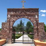 entrada al atrio de San Felipe Teotitlan