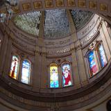 Interior del templo.