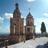 torres del templo de tlaxcala desd otro angulo