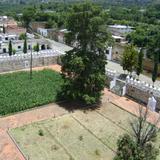 Atrio del ex-convento del siglo XVI. Tochimilco