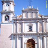 Fachada del templo de Santiago Apostol. Siglo XVIII. Huitzuco, Gro